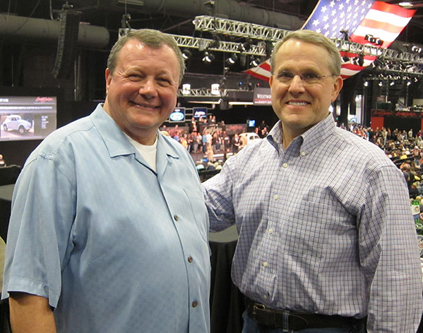 Neshe & Hackett at Barrett-Jackson Jan. 2014