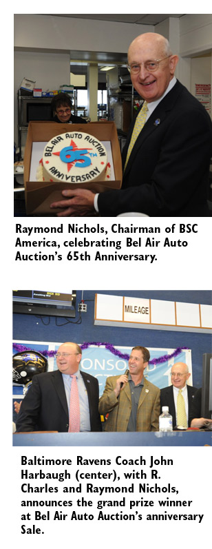 Mile One Automotive >> BSC America Celebrates 65 Years at Bel Air Auto Auction